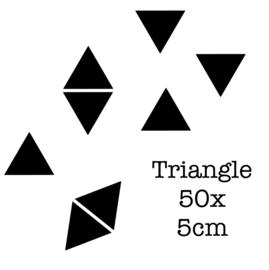 Triangle 5 cm | Muur decoratie