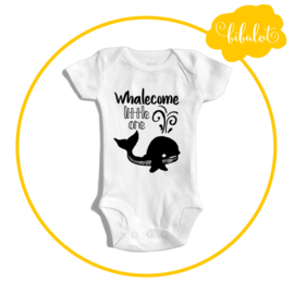 Whalecome little one | Romper