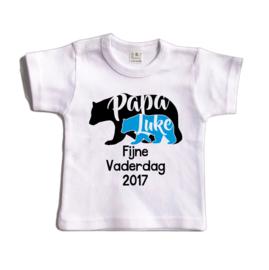Papa bear - Fijne vaderdag 2017! | Shirt