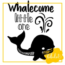 Whalecome little one | Strijkapplicatie