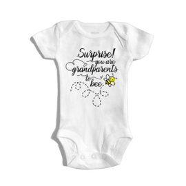 Surprise you are grandparents to bee