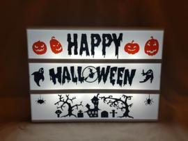 Happy Halloween - Lichtbak vellen