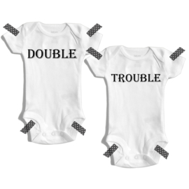 Double Trouble | Rompers