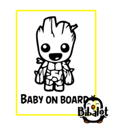 Groot baby on board | Auto Stickers