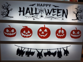 Halloween - Lichtbak vellen