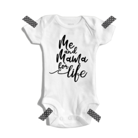 Me and mama for life | Romper
