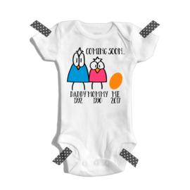 Coming soon | Zwangerschaps aankondiging