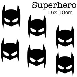 Superhero 10 cm | Muur decoratie