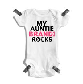 My auntie *name* rocks
