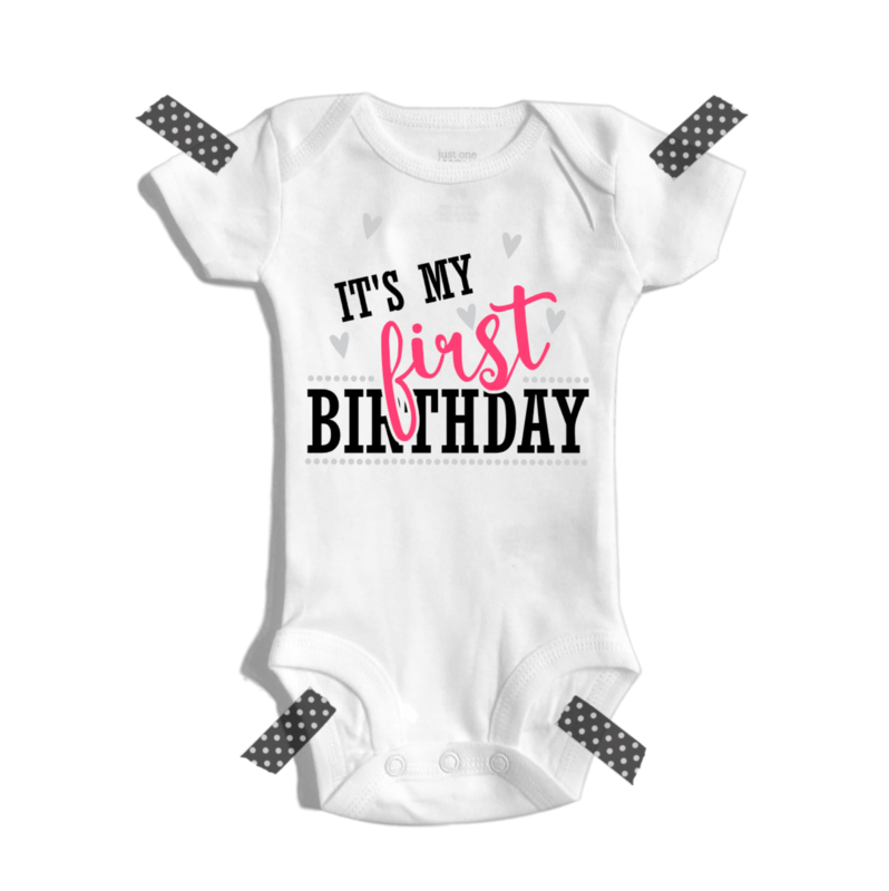 It's my first birthday meisje | Romper