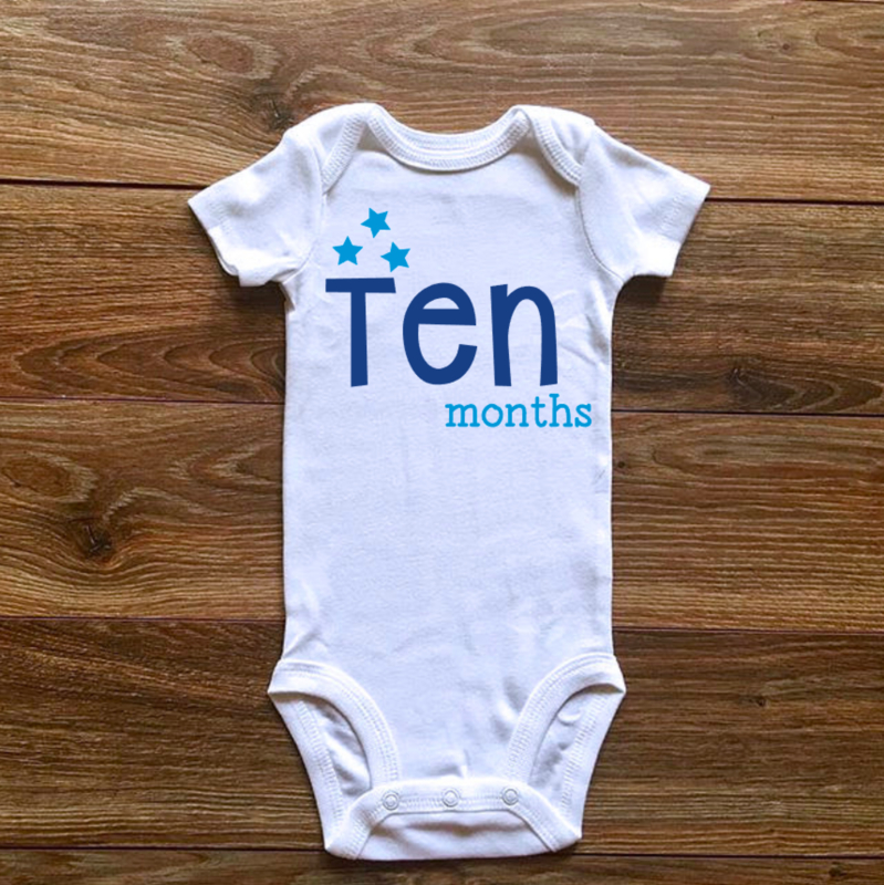Ten months | Blauwe collectie