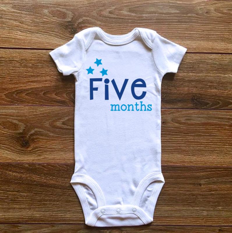 Five months | Blauwe collectie