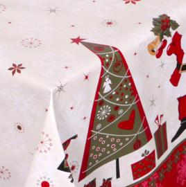 Kerst tafelzeil - Santa claus