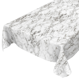 Tafelzeil - Marmer wit