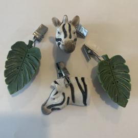 Tafelzeil klemmen - Jungle zebra