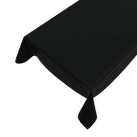 Gecoat tafellinnen - Zwart