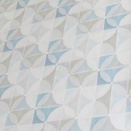 Tafelzeil - Les helices blauw