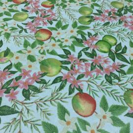 Geplastificeerd katoen - Appel bloesem