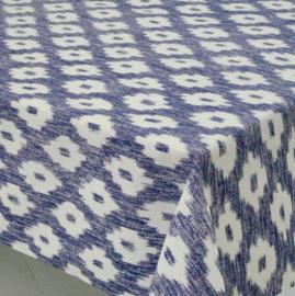 Gecoat tafellinnen/tafelkleed - Barcelo blauw