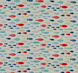 Geplastificeerd katoen - Fish