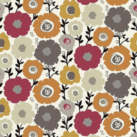 Geplastificeerd katoen - Mimi bloem
