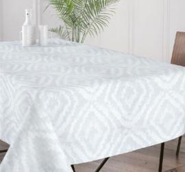 Gecoat tafellinnen/tafelkleed - Cassat ivoor