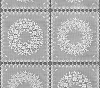 Tafelzeil - Kant (dicht patroon)