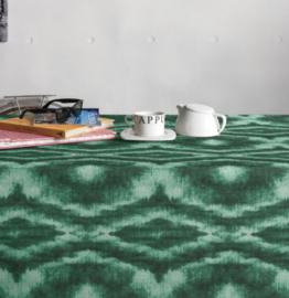 Gecoat tafellinnen/tafelkleed - Saura acqua groen