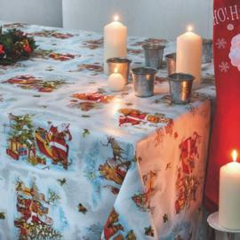 Tafelzeil kerst - Kerstman