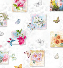 Tafelzeil - Zomerse vlinders