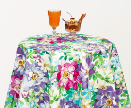 Tafelzeil - Bloemenprint florisante