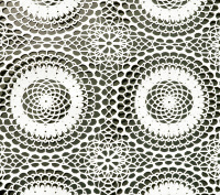 Tafelzeil - Kant (open patroon) beige