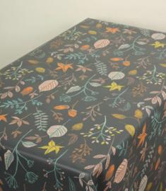 Geplastificeerd katoen - Herfst bladeren 1