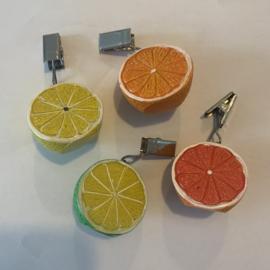 Tafelzeil klemmen - Citrusvrucht