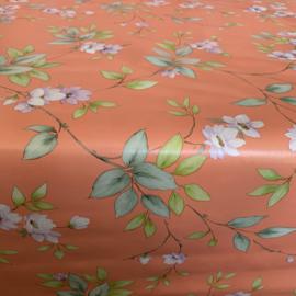 Tafelzeil - Bloemenprint roze