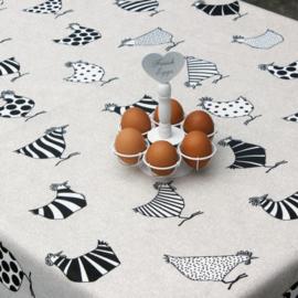 Gecoat tafellinnen - Pasen (rego/kip)