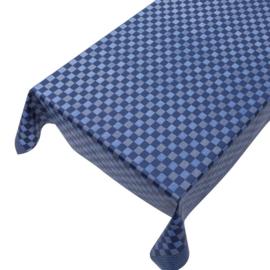 Gecoat tafellinnen - Theedoek blauw