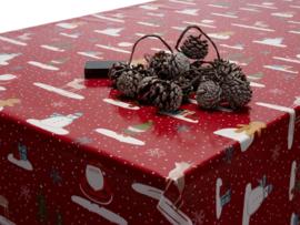 Geplastificeerd katoen - Kerst santa claus