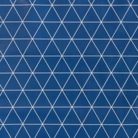 Tafelzeil - Triangle blauw