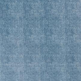 Tafelzeil - Linnen look blauw