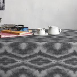 Gecoat tafellinnen/tafelkleed - Saura grijs