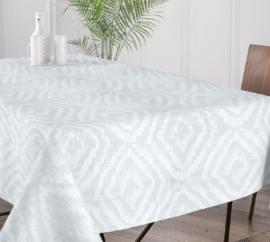 Gecoat tafellinnen/tafelkleed (EXTRA BREED) - Cassat ivoor