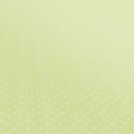 Tafelzeil - Nopjes groen-wit