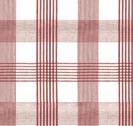 Tafelzeil - Ruit rood wit
