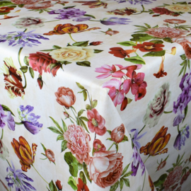 Tafelzeil - Romantische bloemen