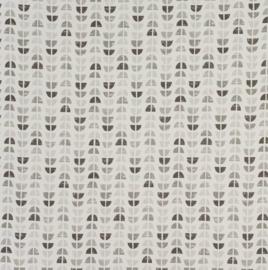 Geplastificeerd katoen - Odens grijs