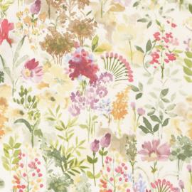 Geplastificeerd katoen - Spring flower