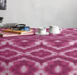 Gecoat tafellinnen/tafelkleed - Saura pink