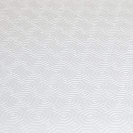 Tafelbeschermer - tafelmolton wit (2mm) 50 cm t/m 140cm breed