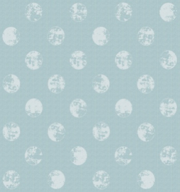 Gecoat tafellinnen - Elyse moon zeegroen